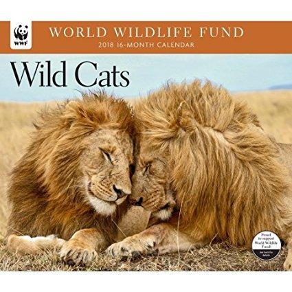 2018 WWF Wild Cats Calendar