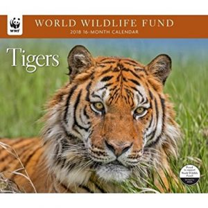 2018 WWF Tigers Calendar