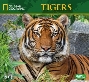 Nat Geo Tigers 2018 Wall Calendar