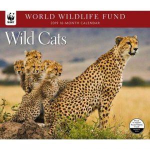 World Wildlife Fund Wild Cats Calendar 2017