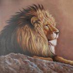 Stunning Lion Art