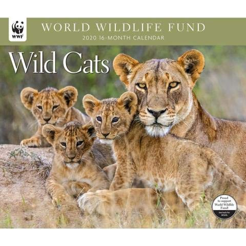 WWF Wild Cats Calendar 2020