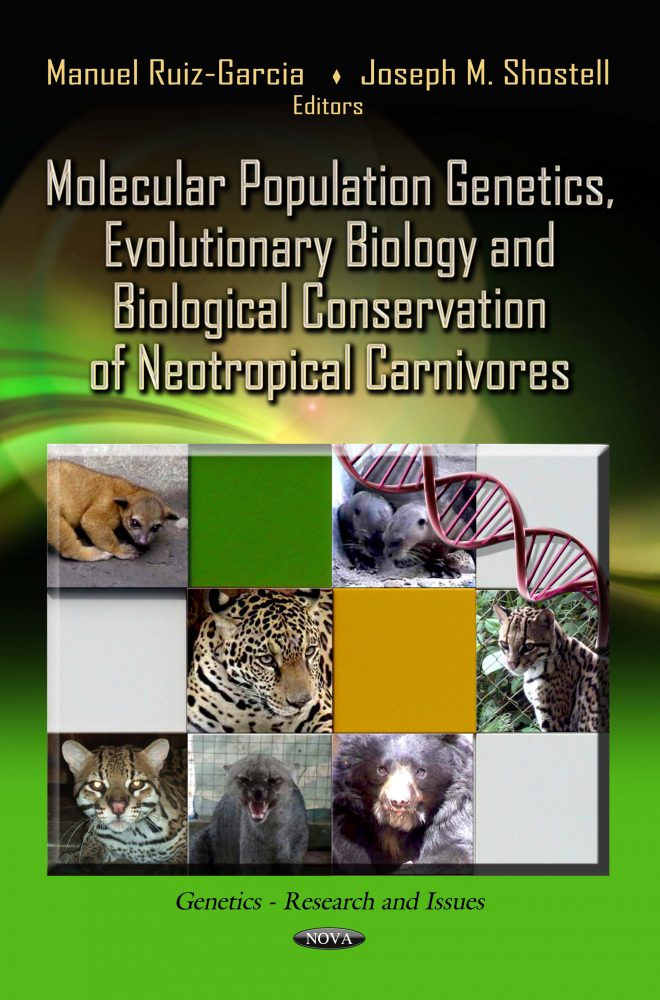 Molecular population genetics, evolutionary biology and biological conservation of neotropical carnivores.