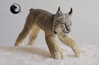 Hand Crafted Lynx Figurines – Made in Canada